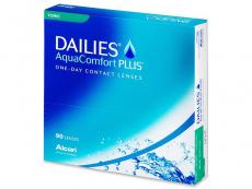 Dailies AquaComfort Plus Toric (90läätse)