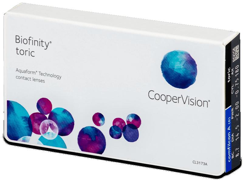 Biofinity Toric (6läätse)