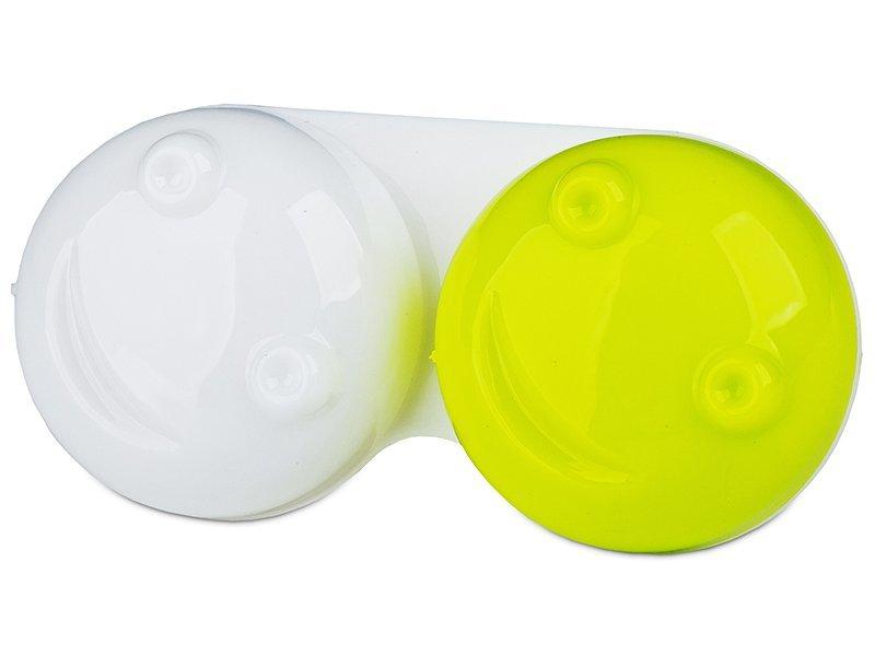 Läätsekonteiner 3D - kollane