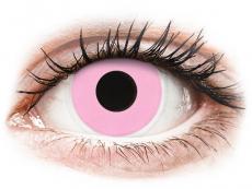 ColourVUE Crazy Lens - Barbie Pink - 0-tugevusega (2 läätse)