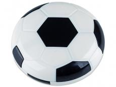Peegliga konteiner Jalgpall - must