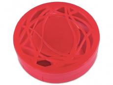 Peegliga konteiner Reljeef - punane