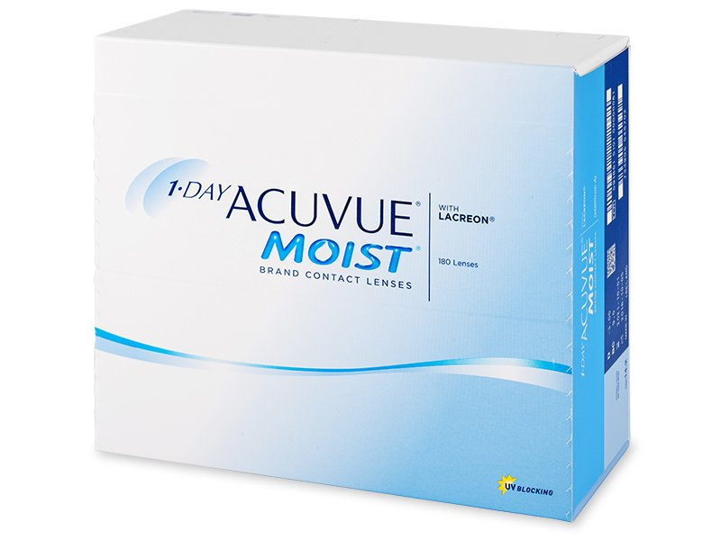 1 Day Acuvue Moist (180 läätse)