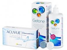 Acuvue Oasys (12 läätse) + Gelone 360 ml