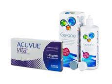 Acuvue Vita (6 läätse) + Gelone 360 ml