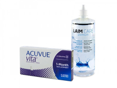 Acuvue Vita (6 läätse) + Laim-Care 400 ml