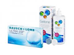 Bausch + Lomb ULTRA (6 läätse) + Gelone 360 ml
