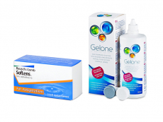 SofLens Toric (3 läätse) + Gelone 360 ml