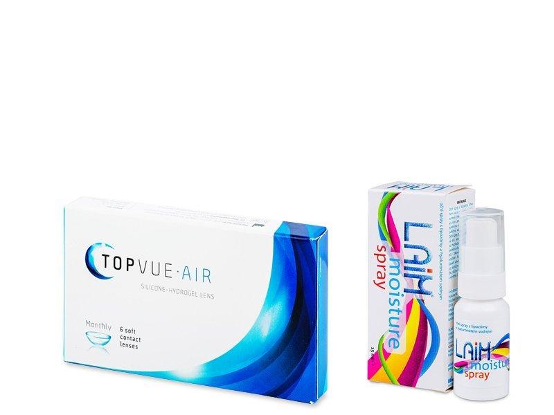 TopVue Air (6 läätse) + Laim Moisture Silmapihusti