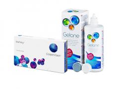 Biofinity (3 läätse) + Gelone 360 ml