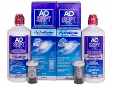 AO SEPT PLUS HydraGlyde Läätsevedelik 2x360 ml