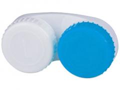 Läätsekonteiner sinine-valge L+R