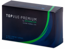 TopVue Premium for Astigmatism (6läätse)