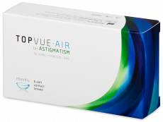 TopVue Air for Astigmatism (6 läätse)