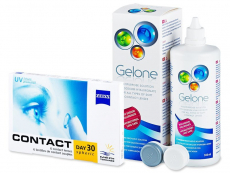 Carl Zeiss Contact Day 30 Spheric (6läätse) +GeloneLäätsevedelik 360ml