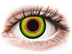 ColourVUE Crazy Lens - Mad Hatter - Ühepäevased läätsed 0-tugevusega (2 läätse)