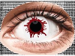 ColourVUE Crazy Lens - Wild Blood - Ühepäevased läätsed 0-tugevusega (2 läätse)
