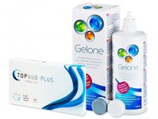 TopVue Plus (6 läätse) +Geloneläätsevedelik360ml
