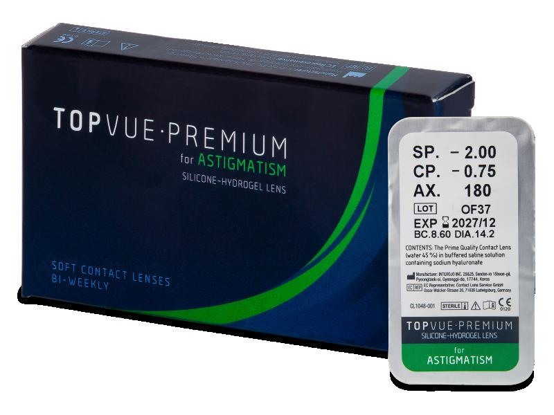 TopVue Premium for Astigmatism (1 lääts)