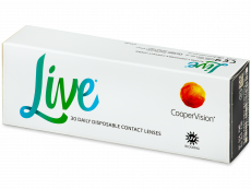 Live Daily Disposable (30 läätse)