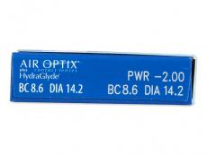 Air Optix plus HydraGlyde (6 läätse)