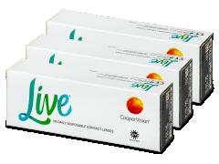 Live Daily Disposable (90 läätse)