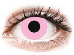 CRAZY LENS - Barbie Pink - Ühepäevased läätsed Korrigeerivad  (2 läätse)