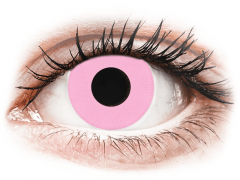 CRAZY LENS - Barbie Pink - Ühepäevased läätsed 0-tugevusega (2 läätse)