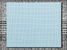 Prillide puhastuslapp - helesinine võre