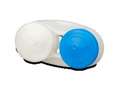 Antibakteriaalne läätsekonteiner - sinine