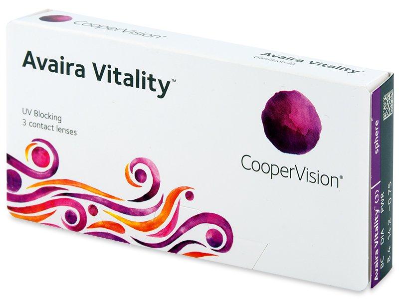 Avaira Vitality (3 läätse)