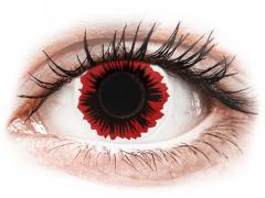 ColourVUE Crazy Lens - Blaze - 0-tugevusega (2 läätse)