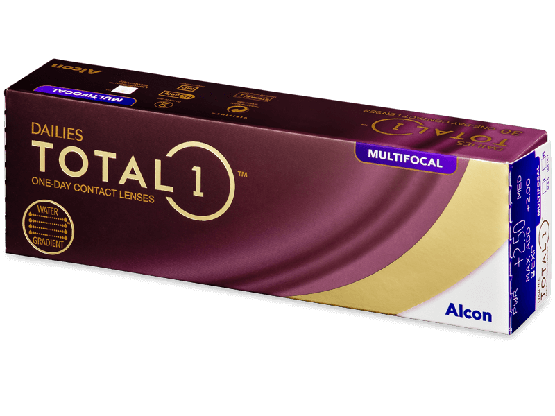 Dailies TOTAL1 Multifocal (30 läätse)