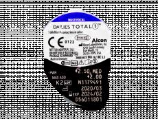 Dailies TOTAL1 Multifocal (90 läätse)