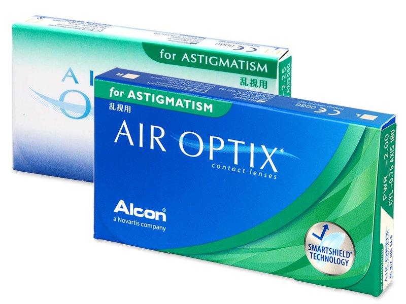 Air Optix for Astigmatism (3läätse)