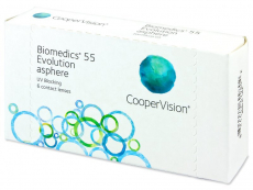 Biomedics 55 Evolution (6 läätse)