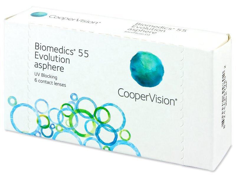 Biomedics 55 Evolution (6läätse)