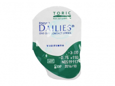 Focus Dailies Toric (30läätse)