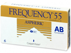 Frequency 55 Aspheric (6 läätse)