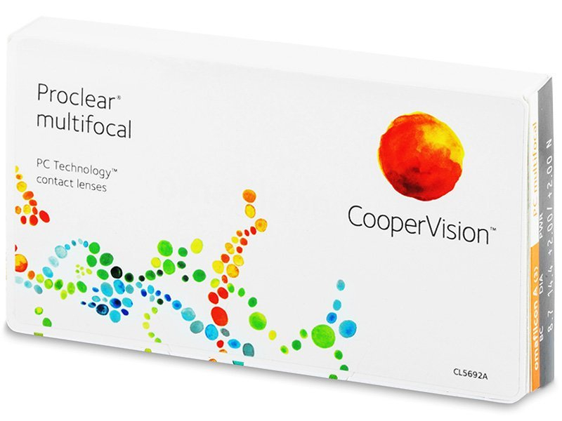 Proclear Multifocal (3läätse)