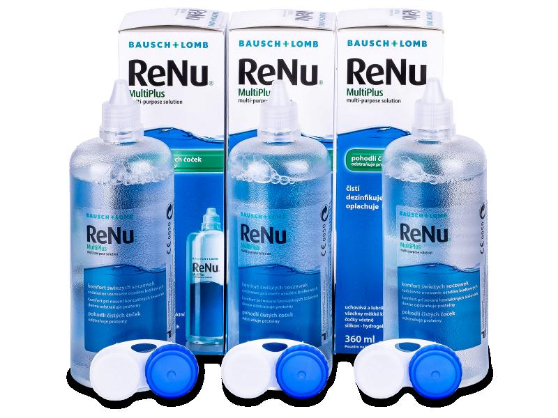 ReNu MultiPlus Läätsevedelik 3x360ml
