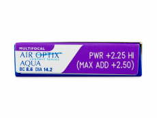 Air Optix Aqua Multifocal (3 läätse)