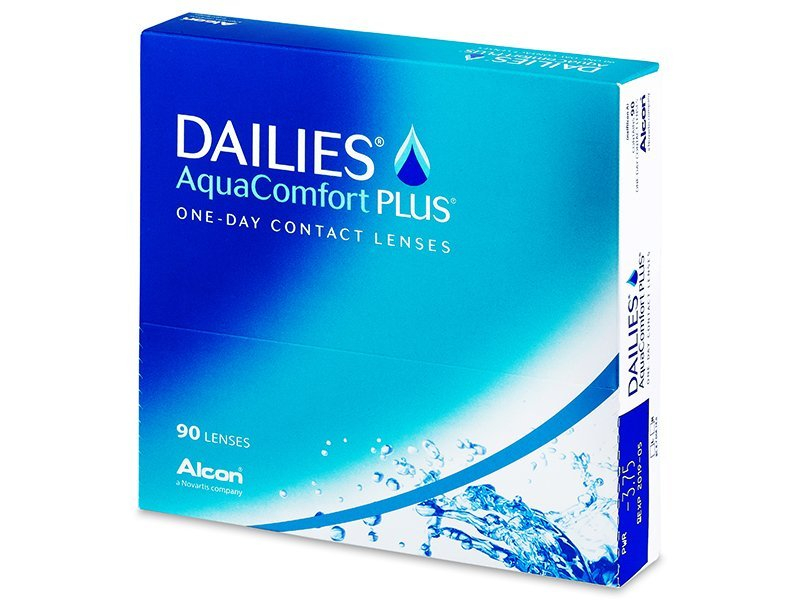 Dailies AquaComfort Plus (90 läätse)