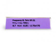 FREQUENCY XCEL TORIC XR (3läätse)