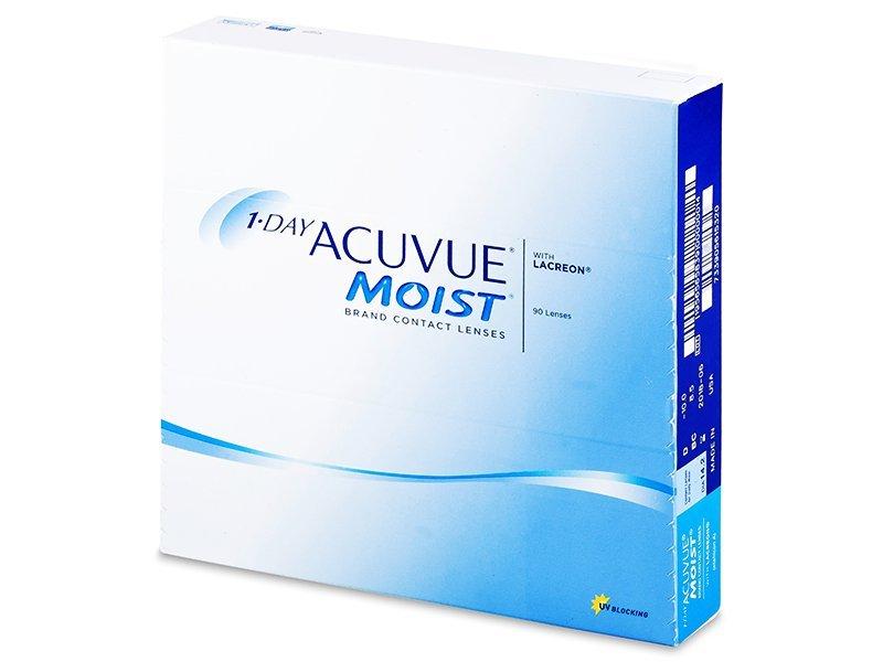 1 Day Acuvue Moist (90läätse)