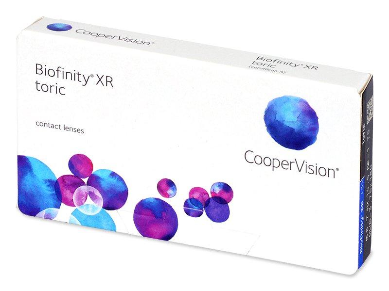 Biofinity XR Toric (3 läätse)