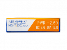 Air Optix Night and Day Aqua (6läätse)