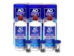 AO SEPT PLUS HydraGlyde Läätsevedelik 3x360 ml